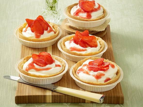 Erdbeer-Daiquiri-Törtchen Rezept