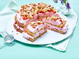 Erdbeer-Flocken-Torte Rezept