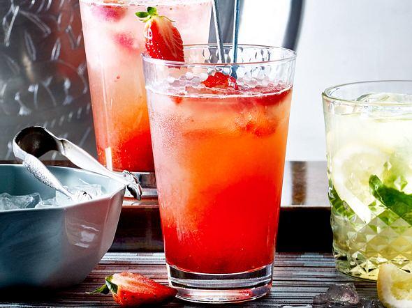 Erdbeer-Gin-Fizz Rezept