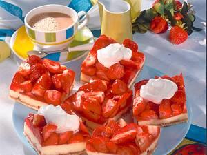 Erdbeer-Grießcreme-Schnitten Rezept