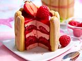 Erdbeer-Himbeer-Charlotte Rezept