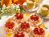 Erdbeer-Mandel-Torteletts Rezept
