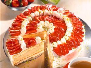 Erdbeer-Mocca-Sahnetorte Rezept