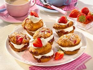 Erdbeer-Muffins (Diabetiker) Rezept