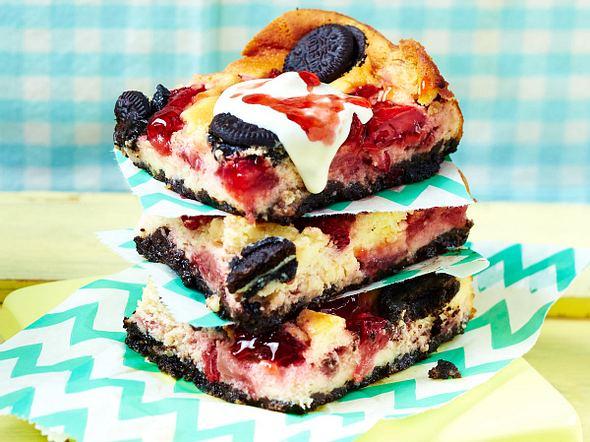 Erdbeer-Oreo-Cheesecake Rezept