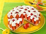 Erdbeer-Prosecco-Kuchen Rezept