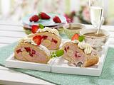 Erdbeer-Prosecco-Rolle Rezept