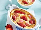 Erdbeer-Rhabarber-Gratin Rezept