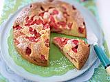 Erdbeer-Rhabarber-Joghurtkuchen Rezept