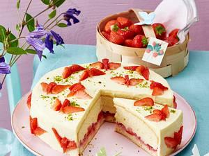 Erdbeer-Schmetterlings-Torte Rezept