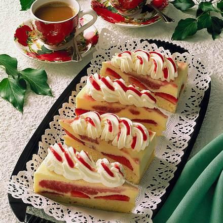 Erdbeer-Schnitten (Diabetiker) Rezept