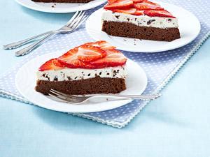 Erdbeer-Schoko-Kuchen Rezept