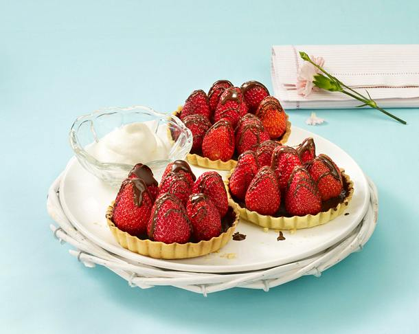 Erdbeer-Tarteletts Rezept