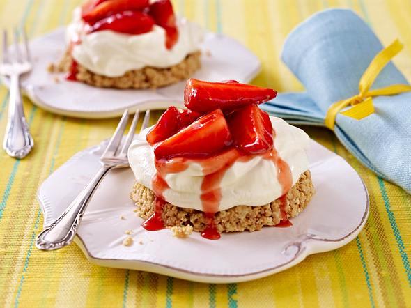 Erdbeer-Törtchen Rezept