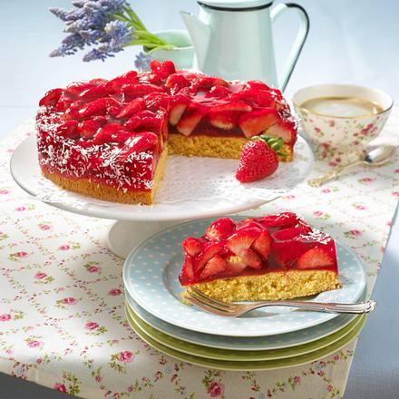 Erdbeer-Torte mit Kokos Rezept