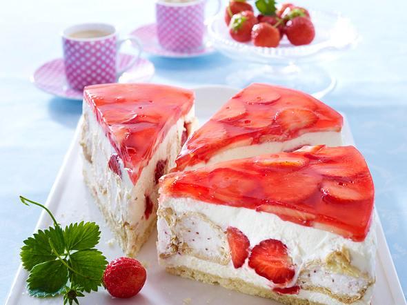 Erdbeer-Traumtorte Rezept