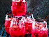 Erdbeer-Vanille-Bowle mit Limette und Gin Rezept