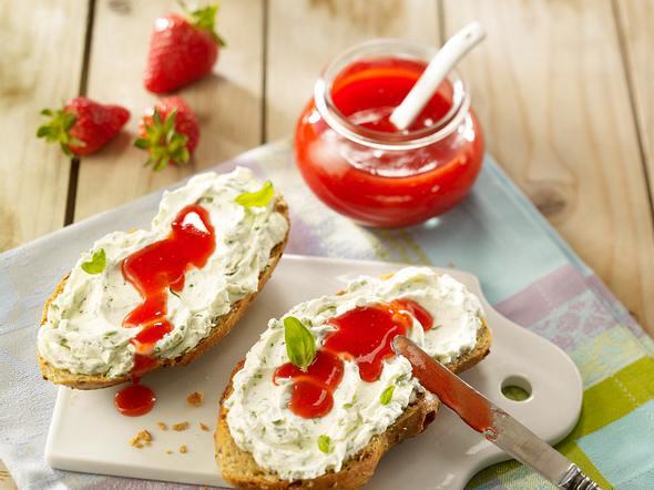 Erdbeer-Vanille-Konfitüre Rezept