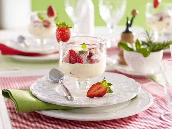 Erdbeer-Zabaione Rezept