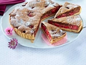 Erdbeertarte mit Schoko-Nuss-Haube Rezept