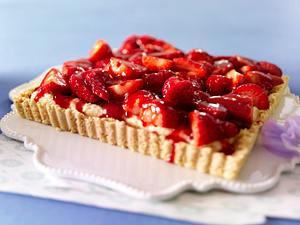 Erdbeertarte mit Shortbreadboden Rezept