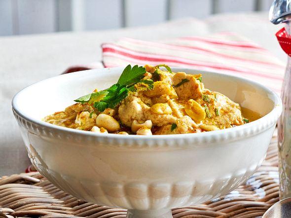 Erdnuss-Curry-Dip Rezept