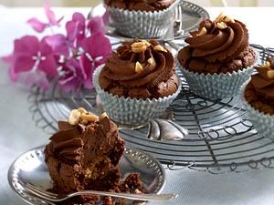 Erdnuss-Schoko-Cupcakes Rezept