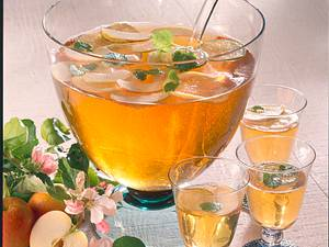 Erfrischende Apfelbowle Rezept