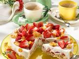 Erfrischende Erdbeertorte Rezept