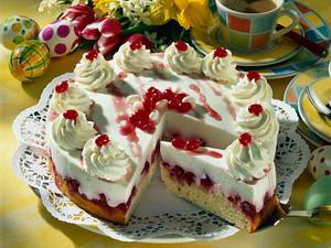 Erfrischende Himbeer-Dickmilch-Torte Rezept