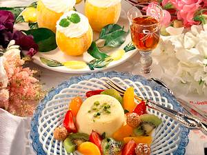 Erfrischendes Zitronensorbet Rezept