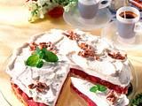 Espresso-Torte mit Kirschen Rezept