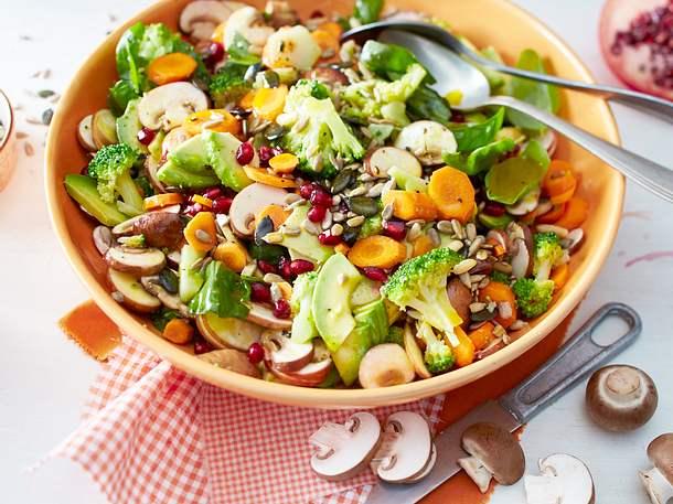 Gemüse-Salat (Everyday-Superfood-Salat) Rezept