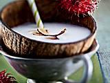 Exotische Drinks: Selbstgemachte Kokosmilch Rezept
