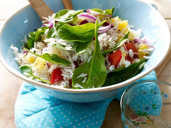 Exotischer Reissalat Rezept
