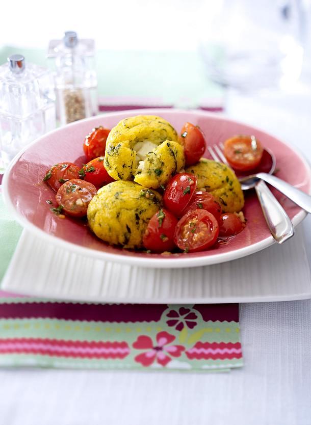 Surprise de polenta Rezept
