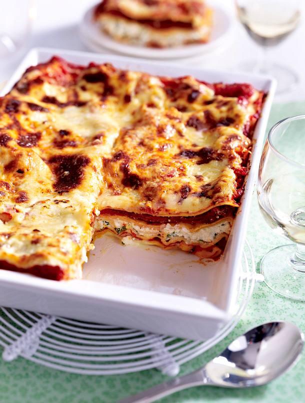 Lasagnes végétariennes Rezept