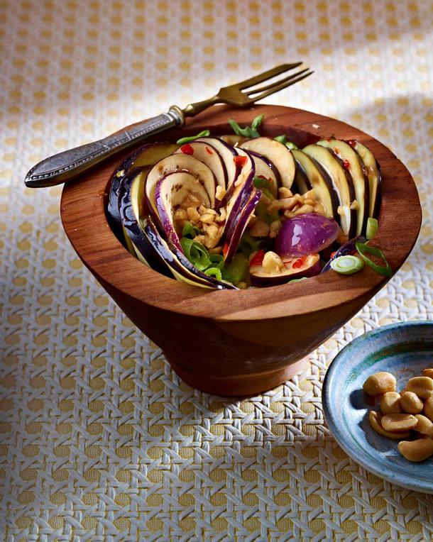 Eggplant salad Rezept