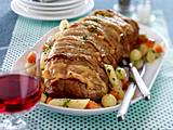Veau Orloff aux légumes d'hiver Rezept