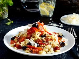Spanish pepper quinoa risotto Rezept