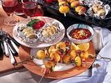 Fächer-Kartoffeln & Kartoffel-Spieße Rezept