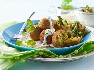 Falafel mit Minz-Joghurt-Soße Rezept