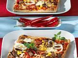 "Familien-Pizza ""Chili con Carne"" Rezept"