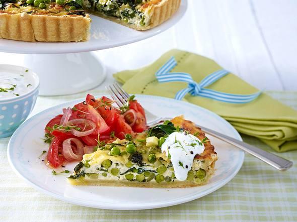 Feine Gemüse-Tarte Rezept