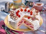 Feine Himbeer-Joghurt-Torte Rezept