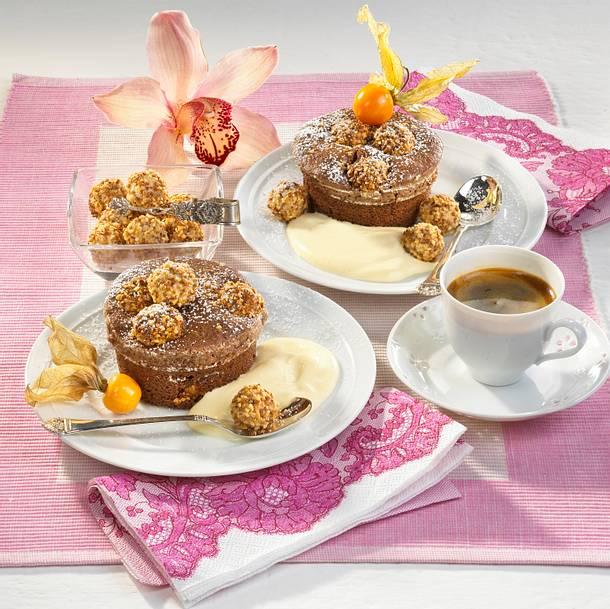 Feines Schokoladen-Soufflé Rezept