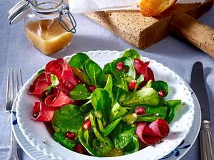 Feldsalat mit Bündner Fleisch Rezept