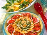 Feldsalat mit Orangen und Avocados Rezept