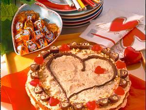 Ferrero-Küsschen-Torte Rezept
