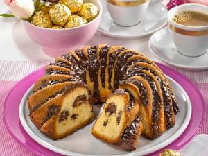 Ferrero Rocher Gugelhupf Rezept